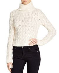 Elizabeth And James Naba Turtleneck Sweater Ivory