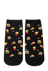 Forever 21 Fast Food Ankle Socks