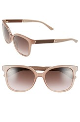 Women's Boss 54Mm Cat Eye Sunglasses Opal Brown