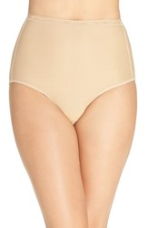 Exofficio Women's Give N Go High Waist Sport Briefs Nude