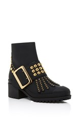 Burberry Studded Whitchester Ankle Boot Black