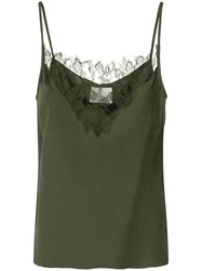 Dion Lee Lace Panelled Crepe Camisole 60