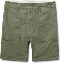Neighborhood Cotton Ripstop Shorts Army Green