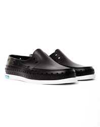 Native Shoes Howard Boat Shoe Black