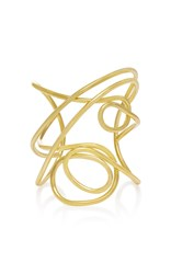 Joanna Laura Constantine Gold Plated Multi Knot Cuff