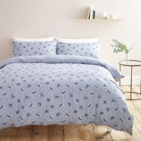 Cath Kidston Winfield Check Duvet Set Blue