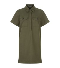 Alexander Wang T By Military Dress Female Green