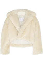 Toga Cropped Faux Fur Jacket