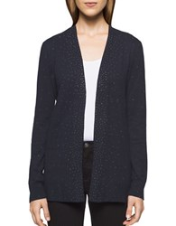 Calvin Klein Jeans Solid Studded Cardigan Night Sky