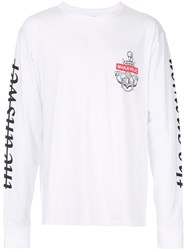 Makavelic Voyage Long Sleeve T Shirt White