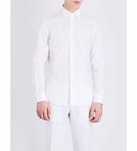 Slowear Regular Fit Cotton Oxford Shirt White