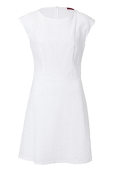 Hugo Cotton Eyelet Sheath Dress