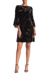 Lafayette 148 New York Marissa Dress Black Multi