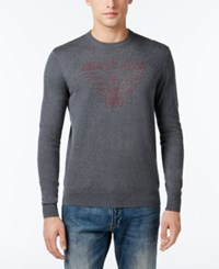 Armani Jeans Men's Logo Sweater Grey