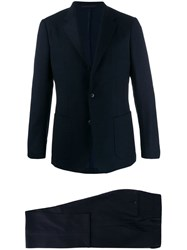 Z Zegna Wool Two Piece Suit Blue