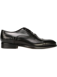 Canali Classic Oxford Shoes Black