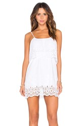 De Lacy Delphine Dress White
