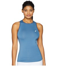 Asics Court Tank Top Azure Sleeveless Blue