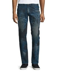 Prps Barracuda Dirty Wash Denim Jeans Blue