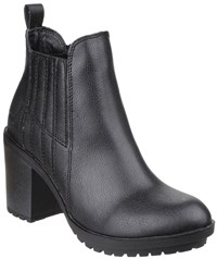 Rocket Dog Raegan Gusset Ankle Boots Black