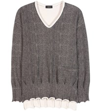 Undercover Cotton Sweater Grey