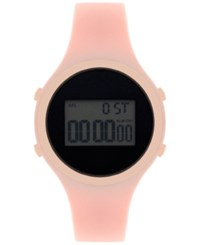 Inc International Concepts Women's Digital Blush Silicone Strap Watch 38Mm In017rgbl Only At Macy's