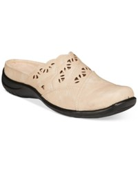 Easy Street Shoes Forever Mules Women's Beige