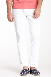 X Ray Slim Straight Jean White