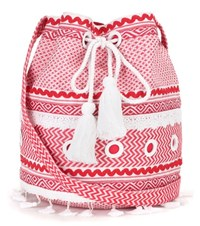 Dodo Bar Or Cotton Bucket Bag Red