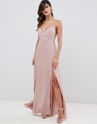 The Jetset Diaries Rose Maxi Dress Pink