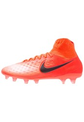 Nike Performance Magista Orden Ii Fg Football Boots Total Crimson Black University Red Bright Mango Pearl Pink