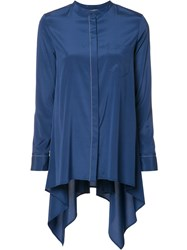 Maiyet Draped Shirt Blue