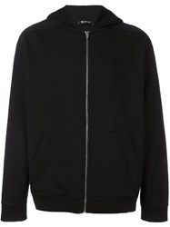Alexander Wang T By Zipped Hoodie Black