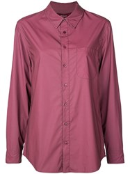 Sies Marjan Chest Pocket Shirt Purple