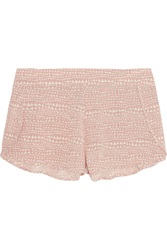 Stella Mccartney Ellie Leaping Printed Stretch Silk Crepe De Chine Pajama Shorts