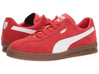Puma Tk Indoor Heritage High Risk Red Men's Soccer Shoes Multi
