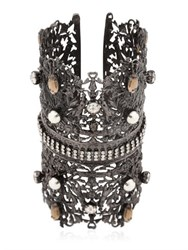 Sara Bencini Double Crown Cuff Bracelet