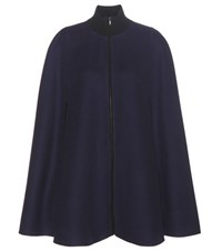 Loro Piana Clerville Cashmere Cape Blue