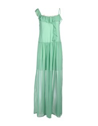 Toy G. Long Dresses Green