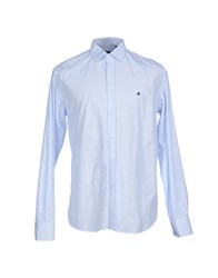 Brooksfield Shirts Shirts Men Azure