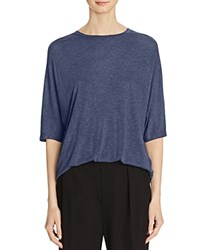 Vince Dolman Sleeve Tee Heather Blue