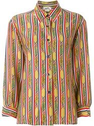 Herma S Vintage Bamboo Print Shirt Multicolour