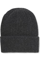 Jil Sander Wool And Cashmere Blend Beanie Anthracite