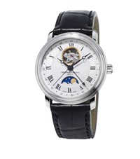 Frederique Constant Classics Moonphase Watch Unisex Silver