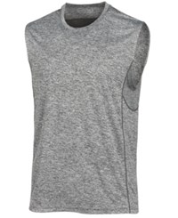 Ideology Id Men's Mesh Trimmed Sleeveless T Shirt Created For Macy's Grey