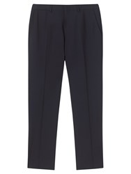 Jigsaw Stretch Wool Trousers Navy