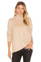 Blank Nyc Turtleneck Sweater Beige