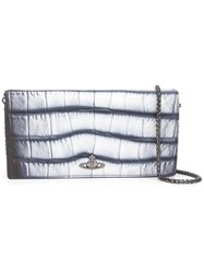 Vivienne Westwood Long 'Dundee' Wallet Metallic