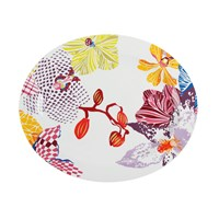 Missoni Home Flowers Oval Platter