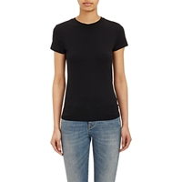 Barneys New York Micro Knit T Shirt Black